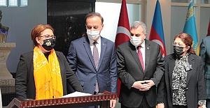 Aile Bakanı Derya Yanık Şanlıurfa Valiliğini Ziyaret Etti