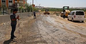 Mehmetçik mahallesinde yollar yapılıyor
