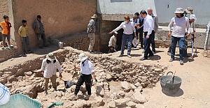 Sayburç kırsal mahallesinde Neolitik Çağa ait ören yeri keşfedildi