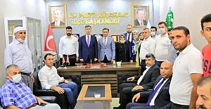 AK Parti İl Teşkilatından Akçakale İlçesine Ziyaret