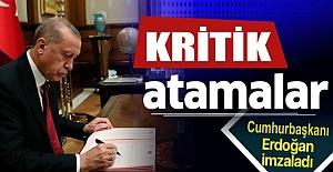 Erdoğan'dan Yeni Atamalar! Resmi Gazete'de Yayımlandı