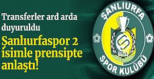 TFF 2. Lig ekiplerinden Şanlıurfaspor, 2 futbolcu ile prensipte anlaştı.
