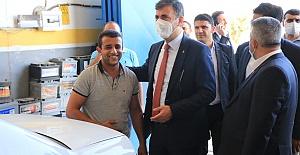 Başkan Kırıkçı ve Teşkilatı Viranşehir'de