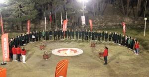 Genç Yeşilay gönüllüleri Kamplarda bir araya geldi