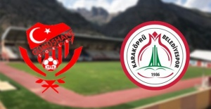 Gümüşhanespor 2 - 0 Karaköprü Belediyespor