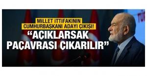 Saadet Partisi Lideri Karamollaoğlu Millet İttifakının Adayı İle İlgili Konuştu