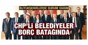 CHP'nin yönettiği belediyelerde borç yükü ağırlaşıyor! İBB borç alma limitini doldurdu