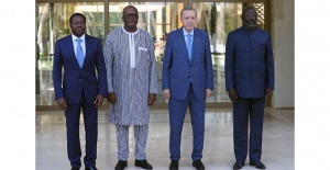 Erdoğan Afrikada! Dörtlü zirve, ortak bildiri...