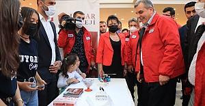Urfa'da başlayan Teknoloji Şenliğini ziyaret eden Başkan Beyazgül: Gelecekten Ümitliyiz