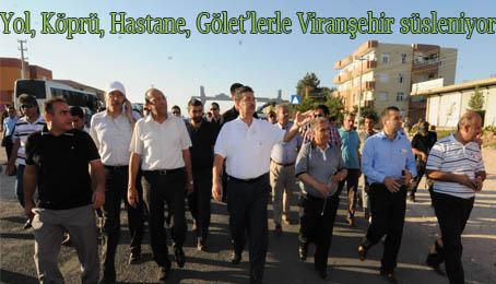 Viranşehir adeta yeniden imar ediliyor-VİDEO HABER