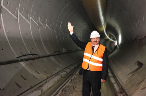 Suruç Tünelinin ucu 2013 başında görülecek