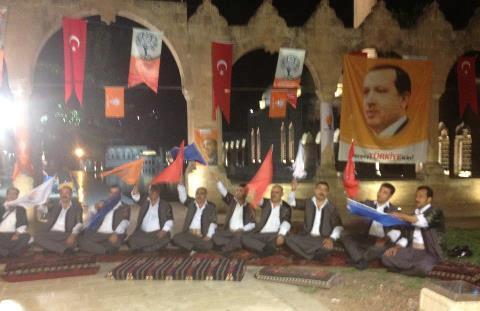 AK Parti seçime Urfa müziği ile giriyor VİDEO