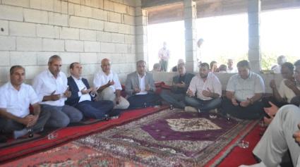 AK Parti'den Sürücü'ye taziye ziyareti