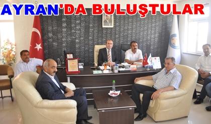 AK Belediyeler Ayran'da bir araya geldi