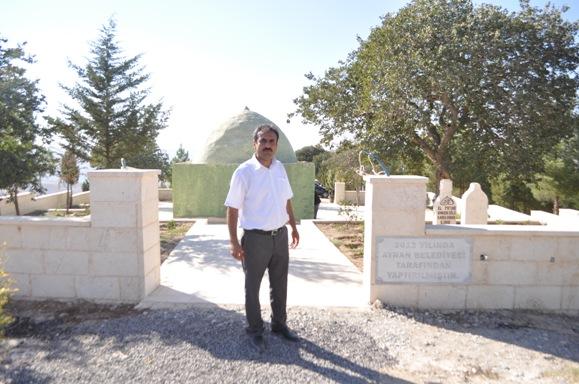 Ayran'daki Şeyh Salih türbesine büyük ilgi VİDEO