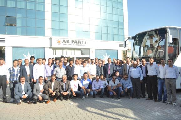 AK Parti davul zurna ile gitti VİDEO