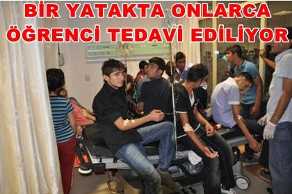 Viranşehir'de yüzlerce öğrenci zehirlendi FOTOĞRAFLI