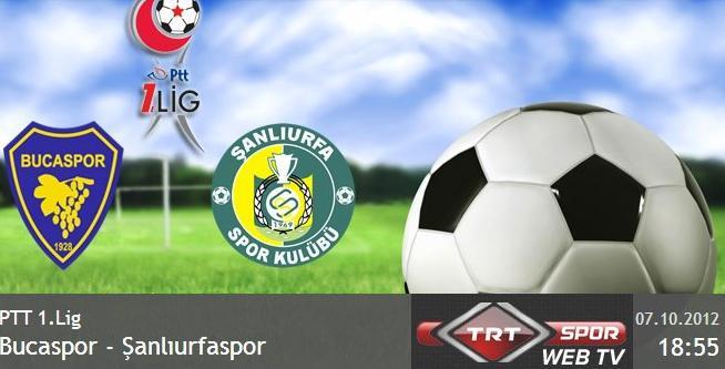 Bucaspor Şanlıurfaspor maçı internette