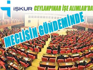 İŞKUR'daki Usulsuzluk iddaları meclis gündeminde
