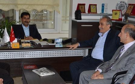 Memur-Sen'i Başkan Fakıbaba ziyaret etti
