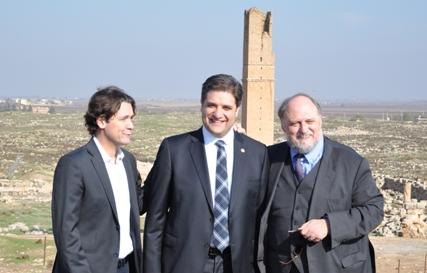 AGİT PA Başkanı Riccardo Migliori Urfa'ya hayran kaldı