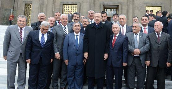 Viranşehirliler, Başbakan Erdoğan'a çıktılar