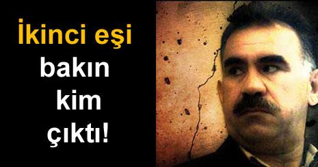 Öcalan'ın ikinci eşi deşifre oldu