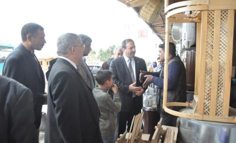 Milletvekili Özcan'dan esnaf ziyareti