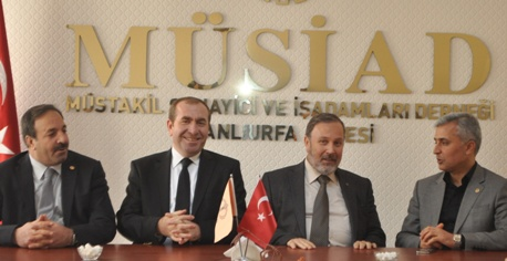 AK Partiden TÜMSİAD ve MÜSİAD'a ziyaret VİDEO