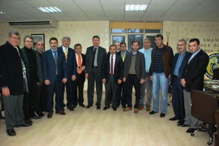 Şanlıurfaspor'a bir destekte AK Parti merkez ilçeden