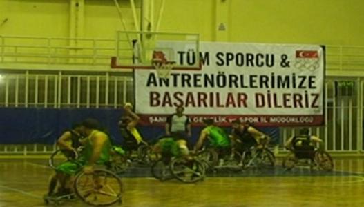 Şanlıurfa engelli Basketbol Takımı, Ankara Büyükşehir Belediyesi'ni yendi