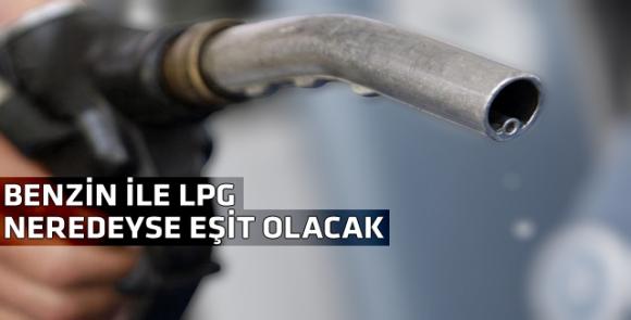 LGP fiyatı benzine yaklaştı