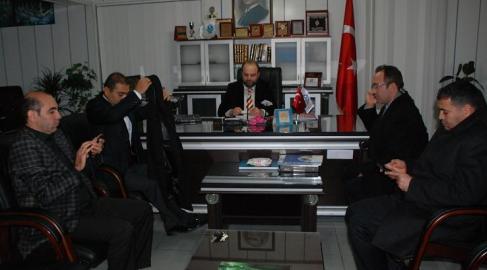 Başkan Zahit'ten Açık'a Hayırlı Olsun Ziyareti VİDEO