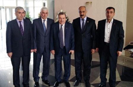 Bayık, Bakan Muammer Güler'i Ziyaret Etti