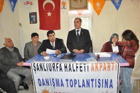 AK Parti Halfeti Danışma Meclisi gerçekleşti