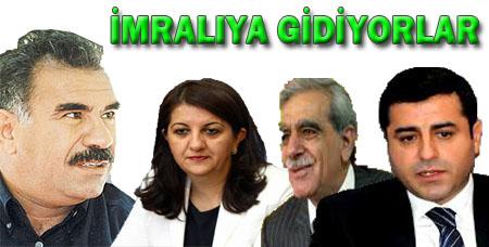Başbakan Erdoğan'dan 3 isme İmralı vizesi çıktı