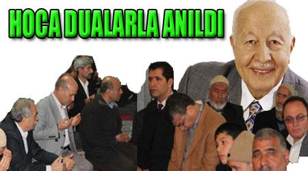 Erbakan Şanlurfa'da dualarla anıldı FOTOĞRAFLI