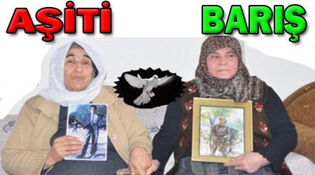 Şanlıurfalı şehit annesi ve PKK'lı annesi el ele konuştu: BARIŞ - AŞİTİ