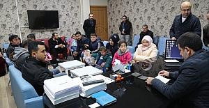 Urfa'daki Fenilketonüri hastalarıyla Başkan Ekinci İlgilendi