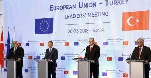 Erdoğan'dan AB açıklaması
