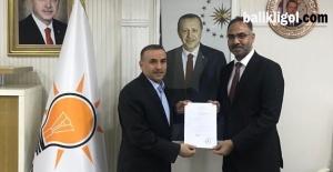 Mehmet Kuş, Eyyübiye Belediye Başkan aday adayı oldu