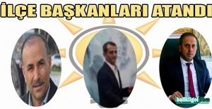 AK Parti Suruç, Birecik ve Eyyübiye ilçe başkanları atandı