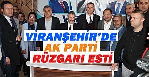 Bakan Yardımcısı Nureddin Nebati Viranşehir'de Oy İstedi