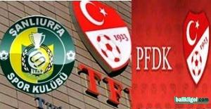 Şanlıurfaspor, Bandırmaspor dolayı PFDK'ya sevk edildi