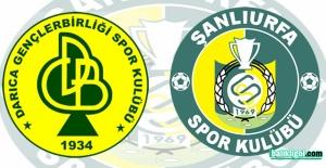 Darıca Gençlerbirliğispor Şanlıurfaspor 1 - 6