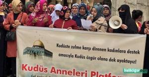 Kudüs Anneleri Platformu 69. kez haykırdı: Kudüs'e özgürlük