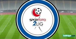 TFF 2.Lig Kırmızı Grup'ta Haftanın Programı