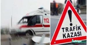 Bozova yolunda feci kaza: 7 yaralı