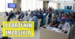 Şanlıurfa Büyükşehir Meclisi Bildiri Yayınladı