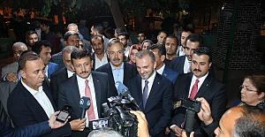 AK Parti Kurmayları Şanlıurfa sınır ilçelerinde